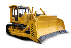 Bulldozer B10M2 with intermediate gauge production ChTZ